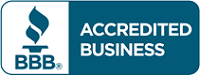 Accredited by the Better Business Burea